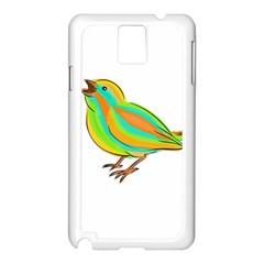 Bird Samsung Galaxy Note 3 N9005 Case (White)