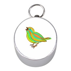 Bird Mini Silver Compasses