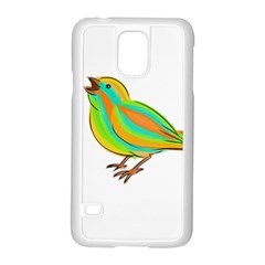 Bird Samsung Galaxy S5 Case (White)