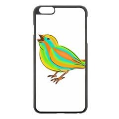 Bird Apple iPhone 6 Plus/6S Plus Black Enamel Case