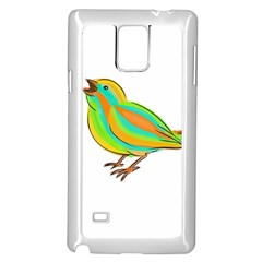Bird Samsung Galaxy Note 4 Case (White)