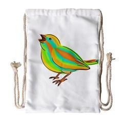 Bird Drawstring Bag (Large)