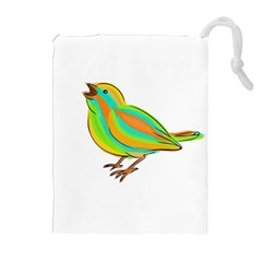 Bird Drawstring Pouches (Extra Large)