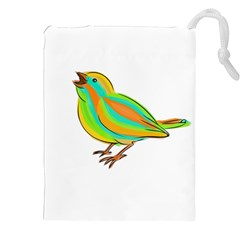 Bird Drawstring Pouches (XXL)