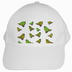 Birds White Cap