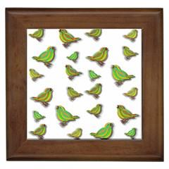 Birds Framed Tiles