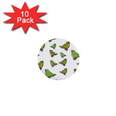 Birds 1  Mini Buttons (10 pack)