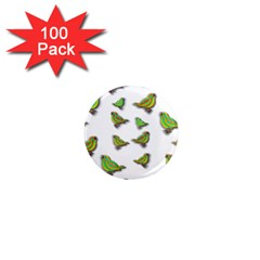 Birds 1  Mini Magnets (100 pack)