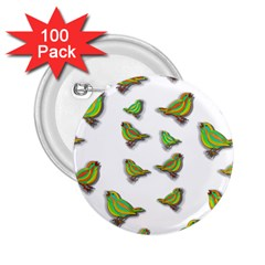 Birds 2.25  Buttons (100 pack)