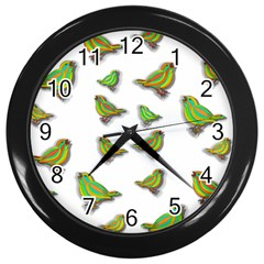 Birds Wall Clocks (Black)