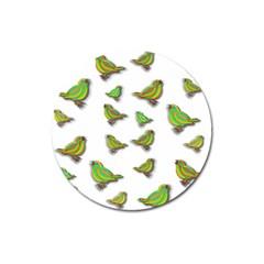 Birds Magnet 3  (Round)