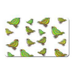 Birds Magnet (Rectangular)
