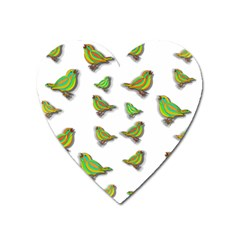Birds Heart Magnet