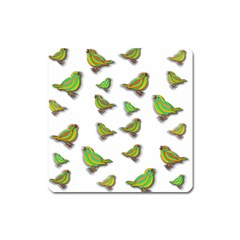 Birds Square Magnet