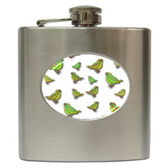 Birds Hip Flask (6 oz)