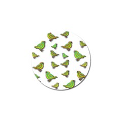Birds Golf Ball Marker (4 pack)