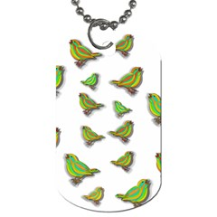 Birds Dog Tag (Two Sides)