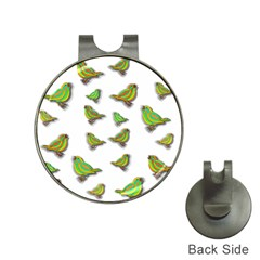 Birds Hat Clips with Golf Markers