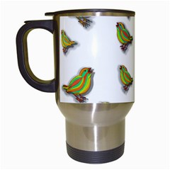 Birds Travel Mugs (White)