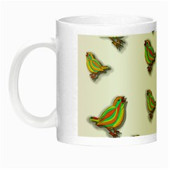 Birds Night Luminous Mugs