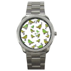 Birds Sport Metal Watch