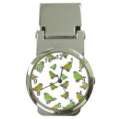 Birds Money Clip Watches