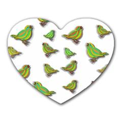 Birds Heart Mousepads