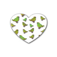 Birds Heart Coaster (4 pack)