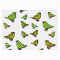 Birds Large Glasses Cloth