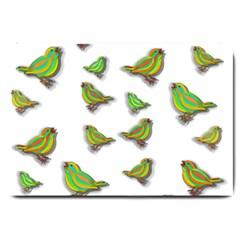 Birds Large Doormat