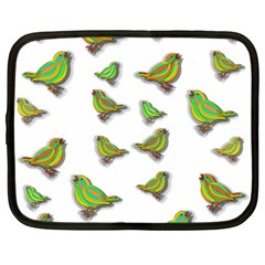 Birds Netbook Case (Large)