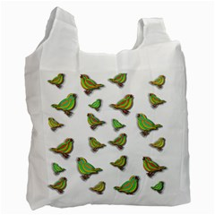 Birds Recycle Bag (One Side)
