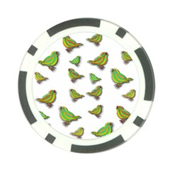 Birds Poker Chip Card Guard (10 pack)
