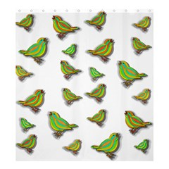 Birds Shower Curtain 66  x 72  (Large)