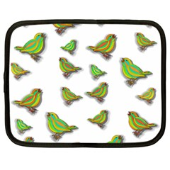 Birds Netbook Case (XL)