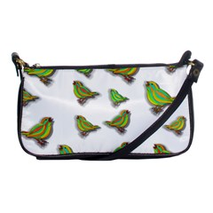Birds Shoulder Clutch Bags