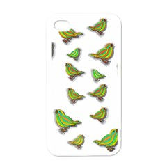 Birds Apple iPhone 4 Case (White)
