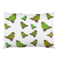 Birds Pillow Case (Two Sides)