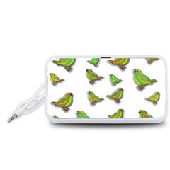Birds Portable Speaker (White)