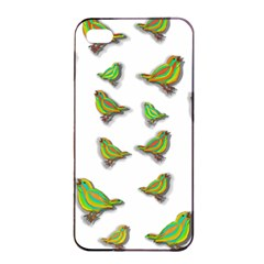 Birds Apple iPhone 4/4s Seamless Case (Black)