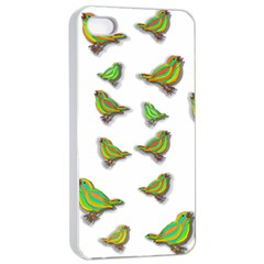 Birds Apple iPhone 4/4s Seamless Case (White)