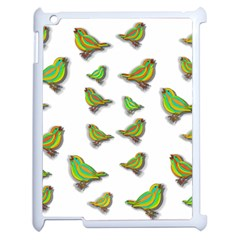 Birds Apple iPad 2 Case (White)