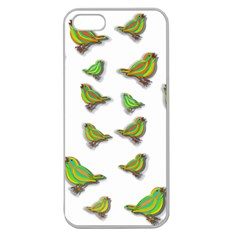 Birds Apple Seamless iPhone 5 Case (Clear)