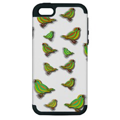 Birds Apple iPhone 5 Hardshell Case (PC+Silicone)