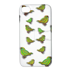 Birds Apple iPhone 4/4S Hardshell Case with Stand