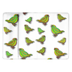 Birds Samsung Galaxy Tab 10.1  P7500 Flip Case