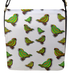 Birds Flap Messenger Bag (S)