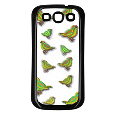 Birds Samsung Galaxy S3 Back Case (Black)