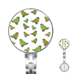 Birds Stainless Steel Nurses Watch
