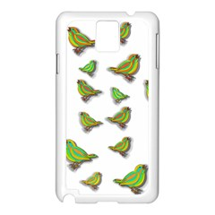 Birds Samsung Galaxy Note 3 N9005 Case (White)